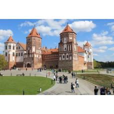 Брест – Беловежская Пуща – Мир – Минск – Хатынь - Москва