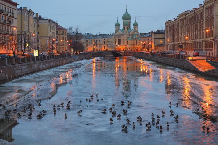 Санкт – Петербург на осенние каникулы