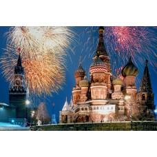 Москва. Зимние каникулы