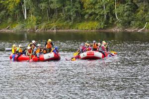 Сплав по реке Умба (тур с выходом в Белое море)