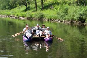 Путешествие по реке Юрюзань
