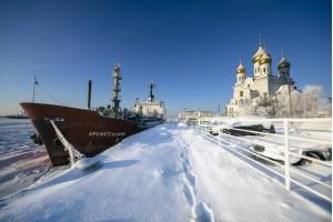 На ледоколе: Архангельск ‒ ворота Арктики