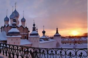 Новогоднее волшебство в древнем Ростове Великом