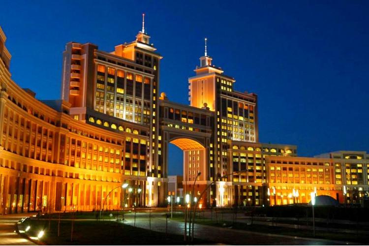 Великолепная столица Нур-Султан