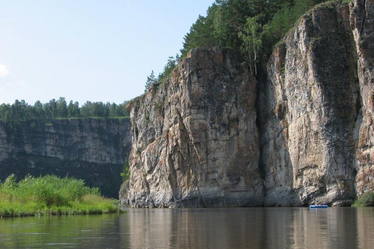 Дворцы на реке Юрюзань