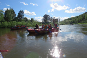 Сплав по реке Уфа