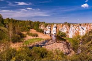 Осень на УРАле: Устиновский каньон + Чашковский хребет