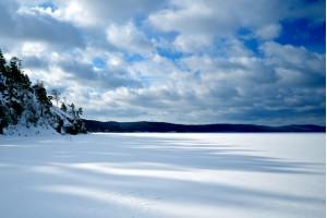 Зимний остров Веры
