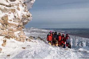 Лыжная прогулка по Уреньге