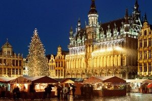 Новогодний Амстердам+ Брюгге+ Брюссель