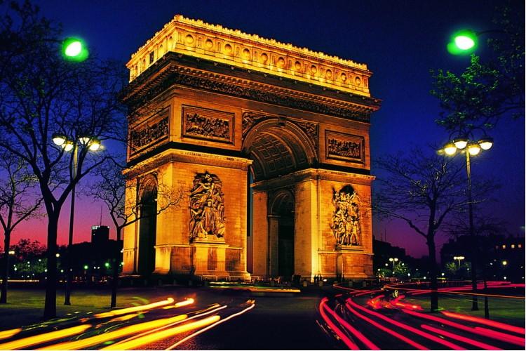 Париж и Шампань