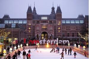 Новогодний Амстердам