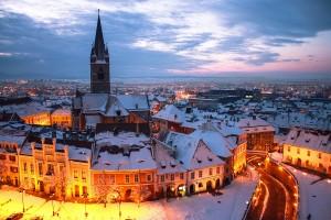 Зимняя сказка в Трансильвании