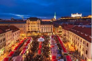 Предрождественская Братислава