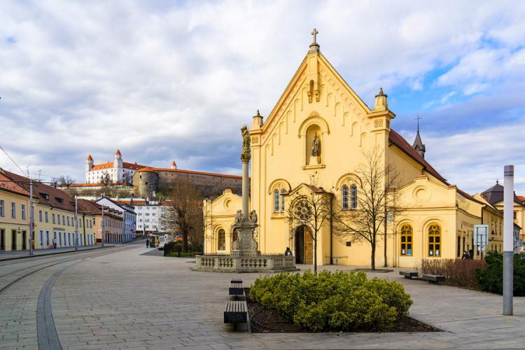 Словакия на поезде